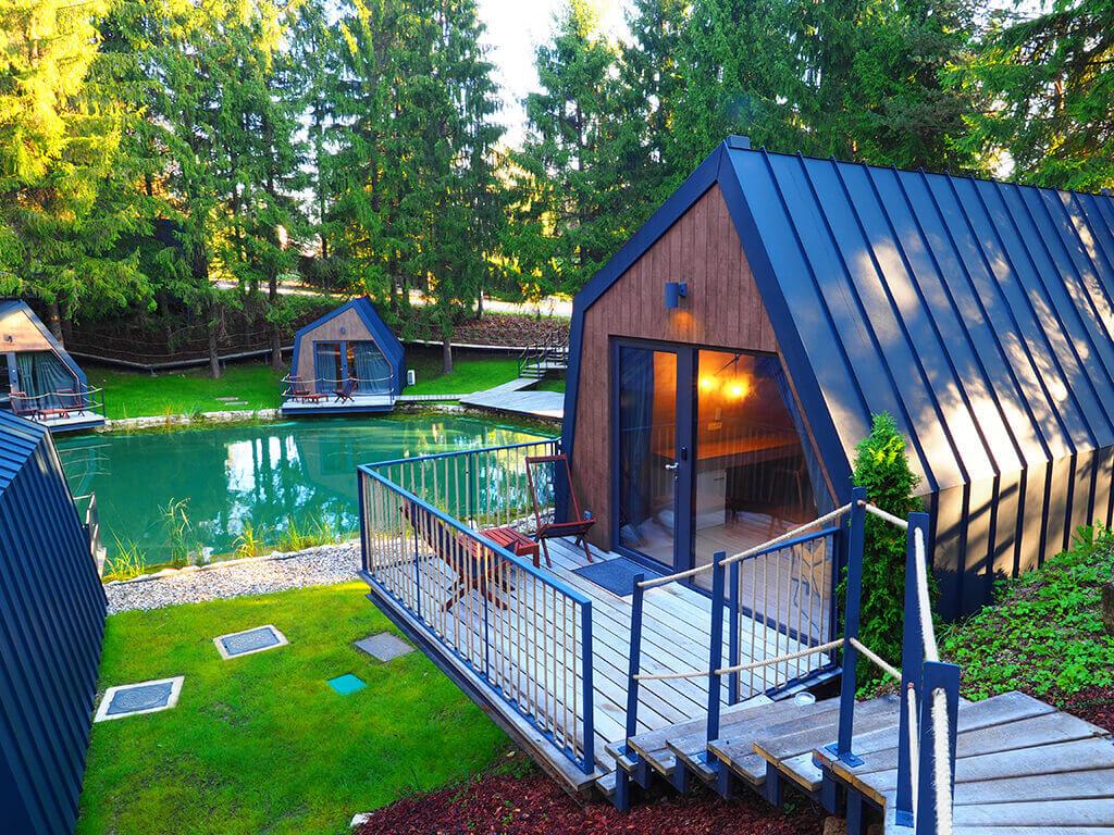 Glamingzelt Lake House   Plitvice Holiday Resort, Rakovica ...